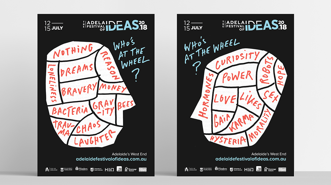Adelaide Festival of Ideas - Posters ( 2 variations )