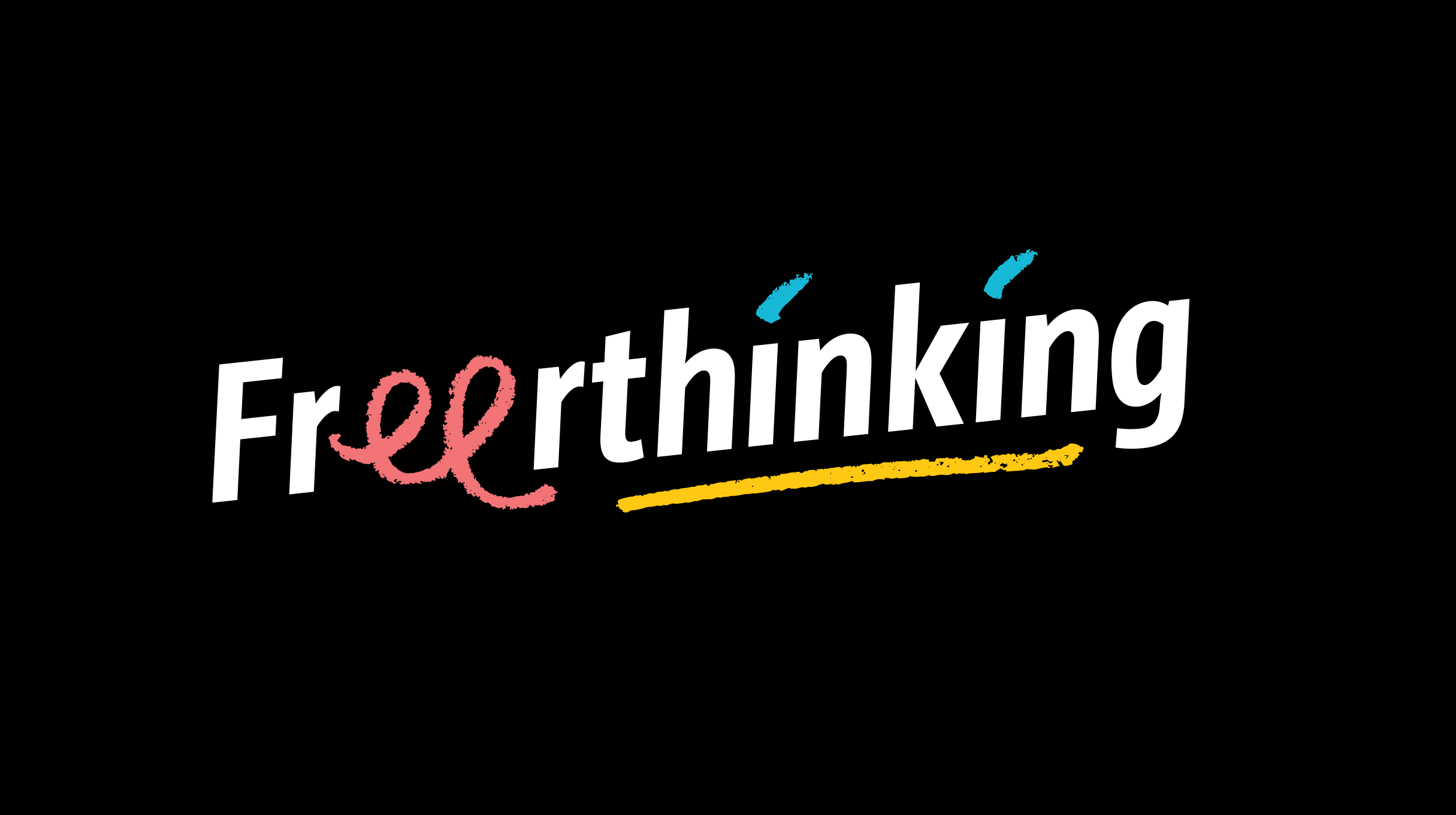 Freerthinking - logo (negative)