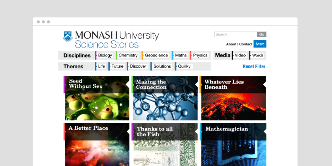 Monash University - Science Stories