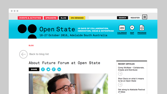 Open State - website - blog post