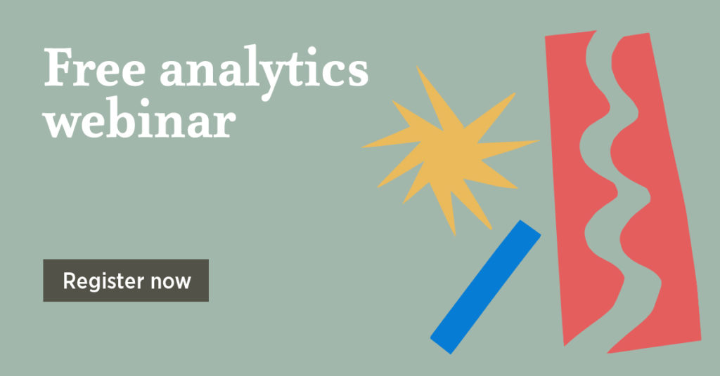 Free analytics webinar - Register now
