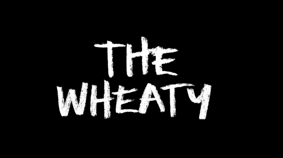 The Wheaty - hand written, chalk style
