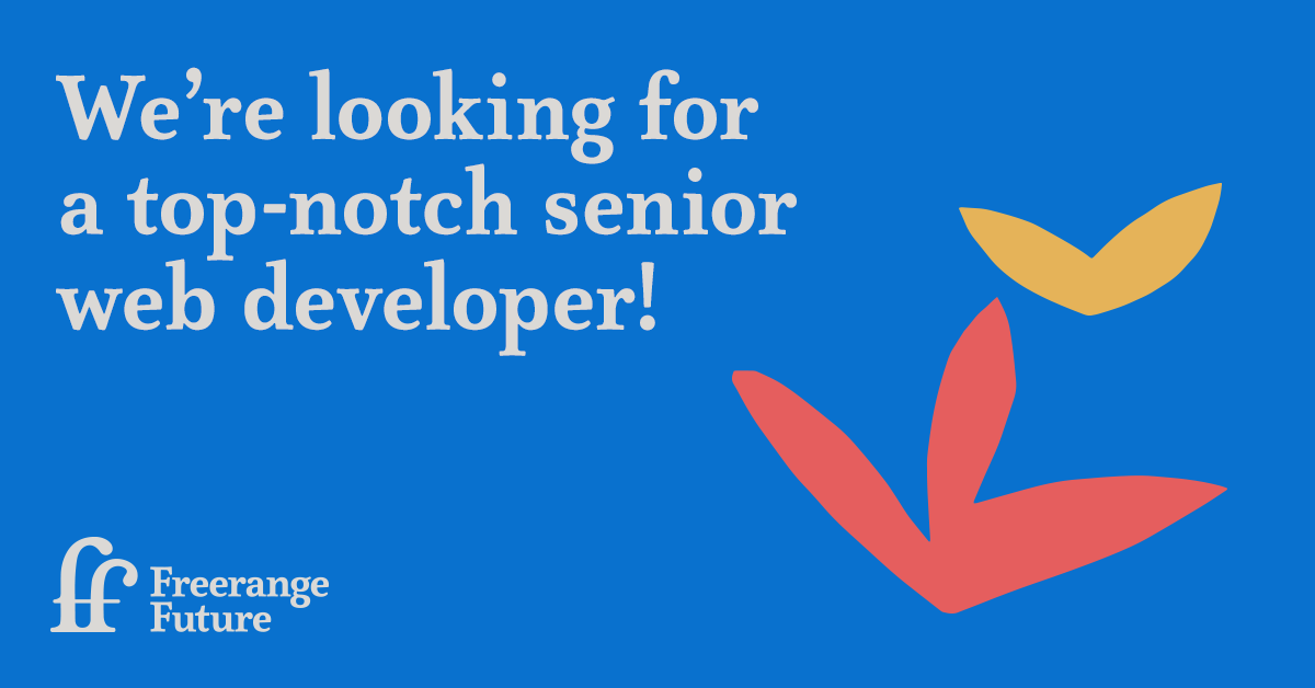 We're looking for a top notch Senior Developer